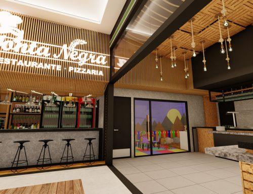 Pizzaria e restaurante em shopping de área nobre