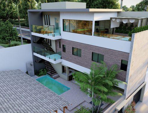 Linda residência de 3 andares com ampla área de lazer